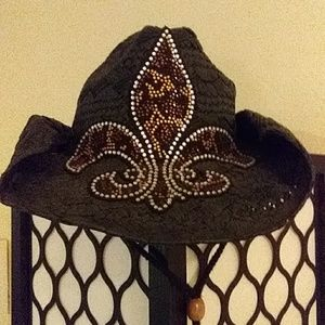 Cowgirl hat by The Buckle